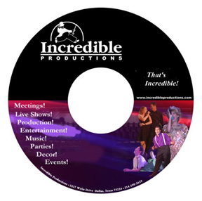Request a Demo CD-Rom from Texas' leading Event Production company!